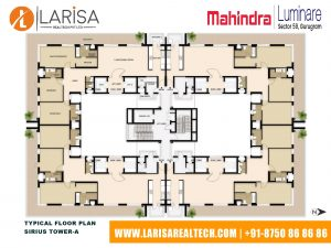 Mahindra Luminare FLOOR PLAN 1(SIRIUS TOWER-A)