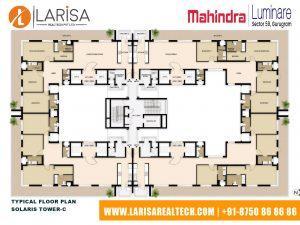 Mahindra Luminare FLOOR PLAN 2(SOLARIS TOWER-C)