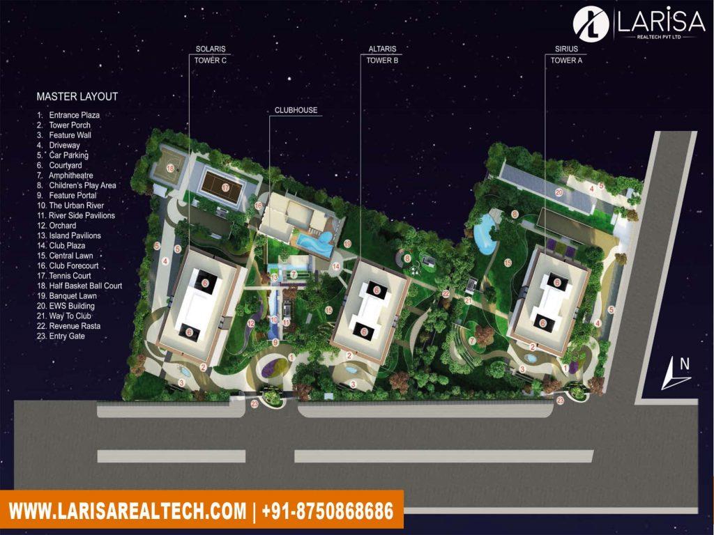 Mahindra Luminare Siteplan