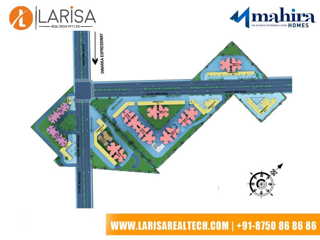 Mahira Homes 104 Siteplan